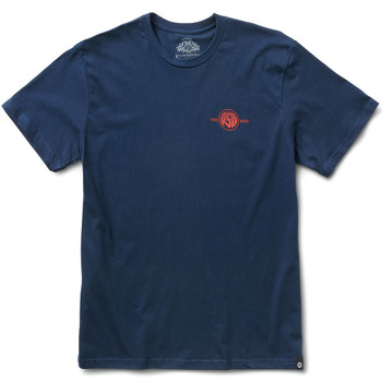 Roland Sands Roman 74 T-Shirt - Navy Blue