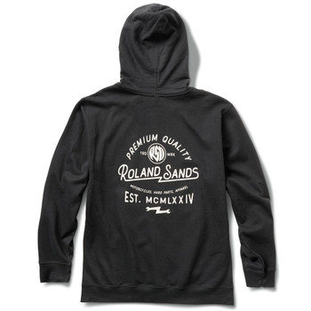 Roland Sands Roman 74 Zip-Up Hoody