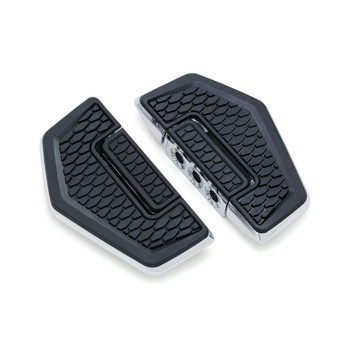 Kuryakyn Hex Folding Boards Foot Pegs - Chrome