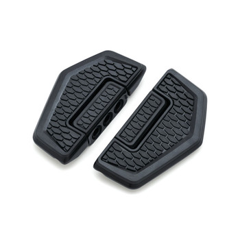 Kuryakyn Hex Folding Boards Foot Pegs - Satin Black