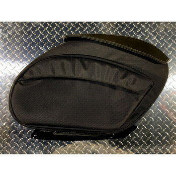 Leather Pros Retro Series V3 Saddlebags for Harley FXR