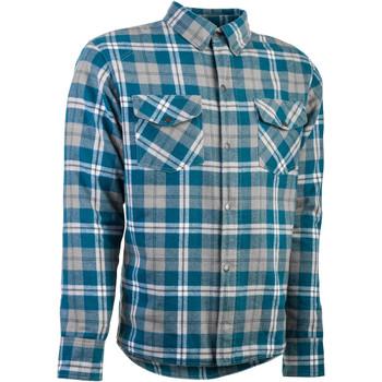 Highway 21 Marksman LE Flannel Shirt - Grey/Blue