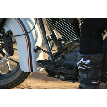 Burly MX Style Driver Floorboards for Harley