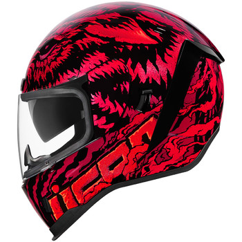 Icon Airform Helmet - Lycan Red