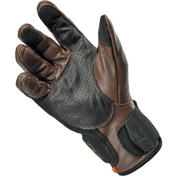 Biltwell Borrego CE Leather Gloves - Chocolate