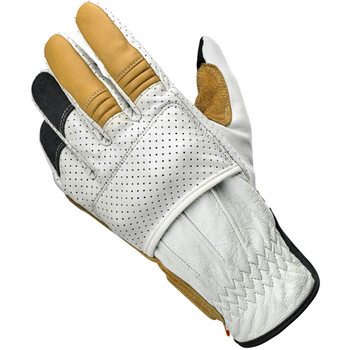 Biltwell Borrego CE Leather Gloves - Cement