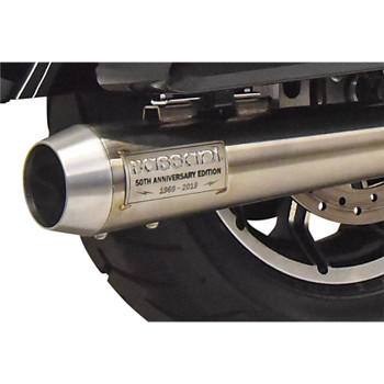Bassani 50th Anniversary Road Rage III Exhaust for 2017-2019 Harley Touring