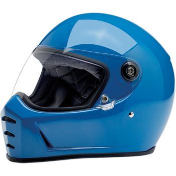 Biltwell Lane Splitter Helmet - Gloss Tahoe Blue