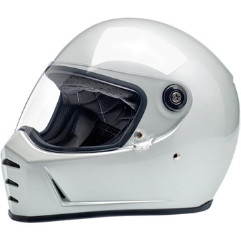 Biltwell Lane Splitter Helmet - Metallic Pearl White