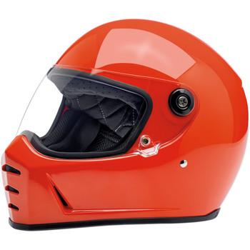 Biltwell Lane Splitter Helmet - Gloss Hazard Orange