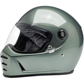 Biltwell Lane Splitter Helmet - Metallic Olive