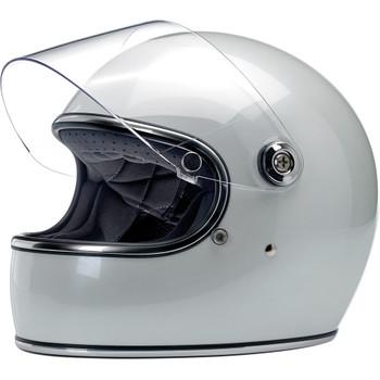 Biltwell Gringo S ECE Helmet - Metallic Pearl White