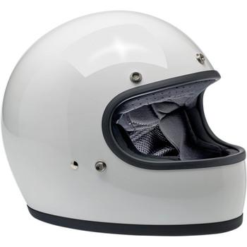 Biltwell Gringo ECE Helmet - Gloss White