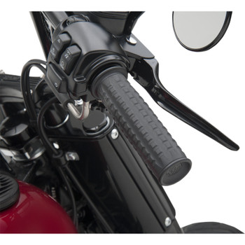 Roland Sands Traction Grips for Harley Dual Cable - Black Ops