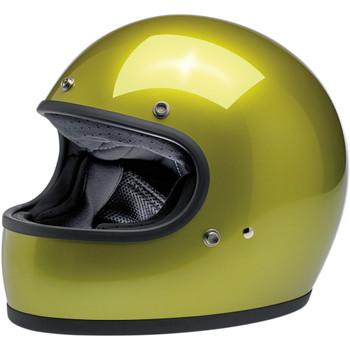 Biltwell Gringo ECE Helmet - Metallic Sea Weed
