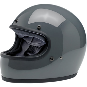 Biltwell Gringo ECE Helmet - Gloss Storm Gray