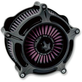 Roland Sands Turbine Air Cleaner for 1991-2019 Harley Sportster - Black Ops