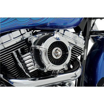 Roland Sands Turbine Air Cleaner for 2008-2017 Harley* - Chrome