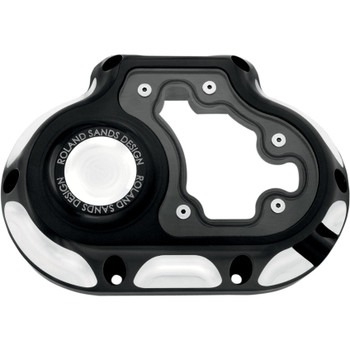 Roland Sands Clarity Transmission Side Cover for Harley Twin Cam - Contrast Cut