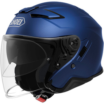 Shoei J-Cruise 2 Open Face Helmet - Matte Blue