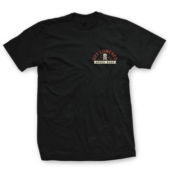 Get Lowered Speed Shop T-Shirt