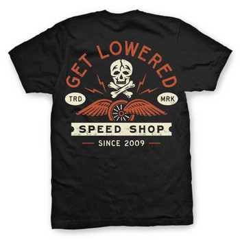 Get Lowered Speed Shop T-Shirt