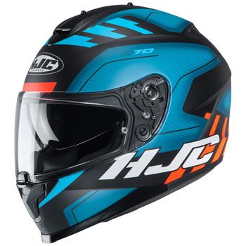 HJC C70 Helmet - Koro MC-2SF