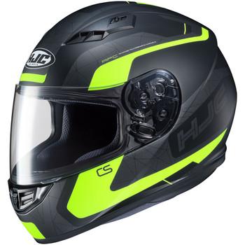 HJC CS-R3 Dosta Helmet - Black/Hi-Viz
