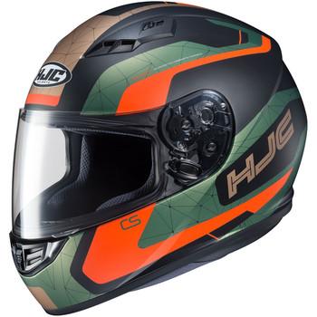 HJC CS-R3 Dosta Helmet - Green/Orange