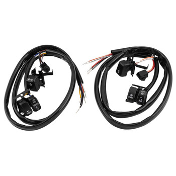 Twin Power Handlebar Switch Kit for 2007-2010 Harley - Black