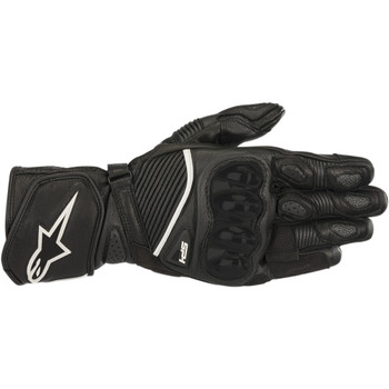 Alpinestars SP-1 V2 Leather Gloves - Black/Black