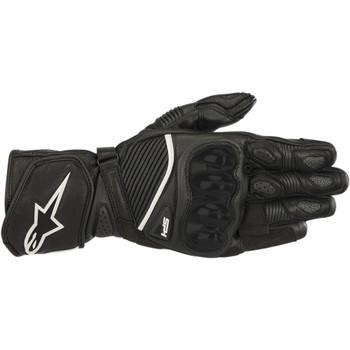 Alpinestars SP-1 V2 Leather Gloves - Black/Black