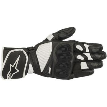 Alpinestars SP-1 V2 Leather Gloves - Black/White