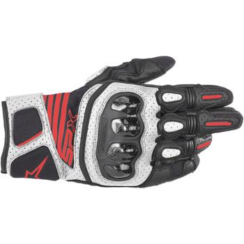 Alpinestars SP-X V2 Air Carbon Gloves - Black/White/Red