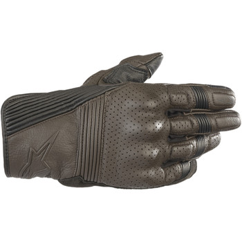 Alpinestars Mustang V2 Leather Gloves - Brown