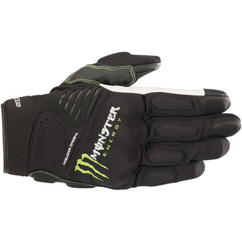 Alpinestars Force Monster Energy Gloves - Black/Green