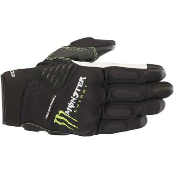 Alpinestars Force Monster Energy Gloves - Black/Green