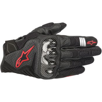 Alpinestars SMX-1 Air V2 Gloves - Black/Red