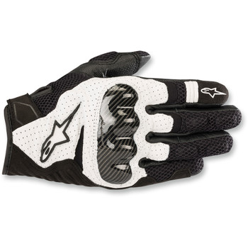 Alpinestars SMX-1 Air V2 Gloves - Black/White