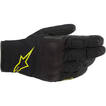 Alpinestars S-Max Drystar Gloves - Black/Yellow