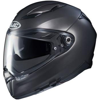 HJC F70 Helmet - Semi-Flat Titanium