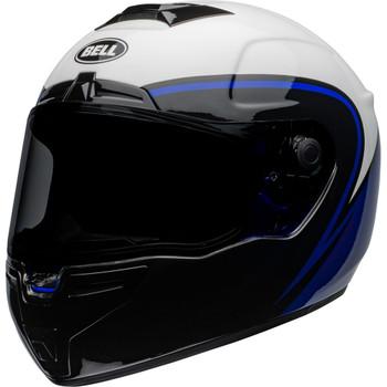 Bell SRT Helmet - Assassin Gloss White/Blue/Black
