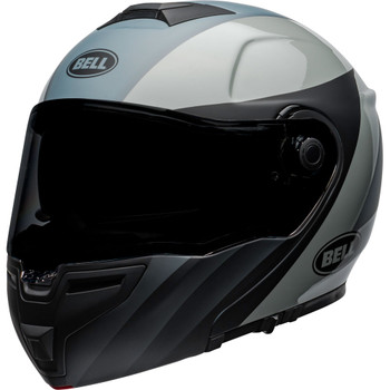 Bell SRT Modular Helmet - Presence Matte/Gloss Black/Gray