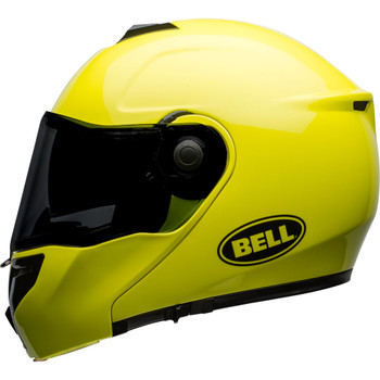Bell SRT Modular Helmet - Transmit Gloss Hi-Viz