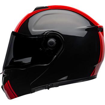 Bell SRT Modular Helmet - Ribbon Gloss Black/Red