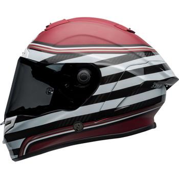 Bell Race Star Flex DLX Helmet - RSD The Zone Matte/Gloss White/Candy Red