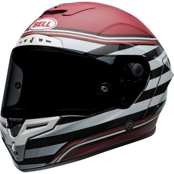 Bell Race Star Flex DLX Helmet - RSD The Zone Matte/Gloss White/Candy Red