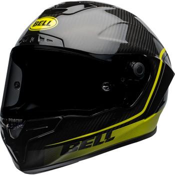 Bell Race Star Flex DLX Helmet - Velocity Matte/Gloss Black/Hi-Viz