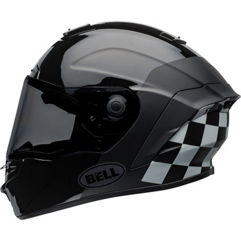 Bell Star MIPS DLX Helmet - Lux Checkers Matte/Gloss Black/White