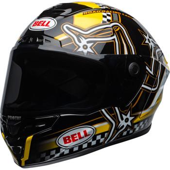 Bell Star MIPS DLX Helmet - Isle of Man Gloss Black/Yellow